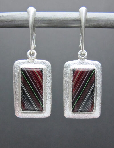 Sterling-Silver-and-Motor-Agate-Fordite-Earrings-1555-1