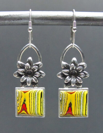 Sterling-Silver-and-Motor-Agate-Fordite-Earrings-1723-1