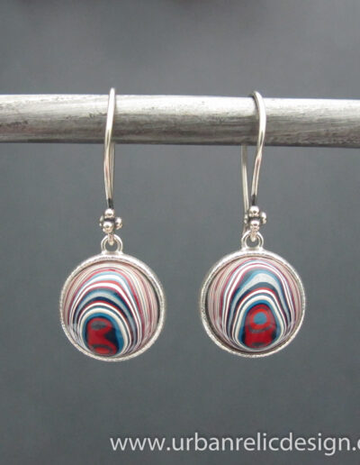 Sterling-Silver-and-Motor-Agate-Fordite-Earrings-1776-3