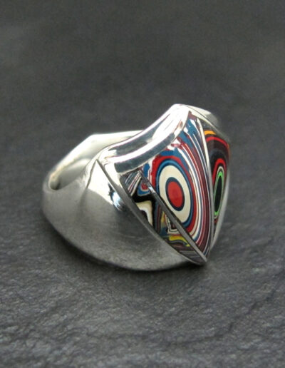 Sterling-Silver-and-Motor-Agate-Fordite-Large-Freeform-Mens-Ring-1423-3