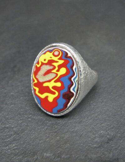 Sterling-Silver-and-Motor-Agate-Fordite-Large-Oval-Ring-1403