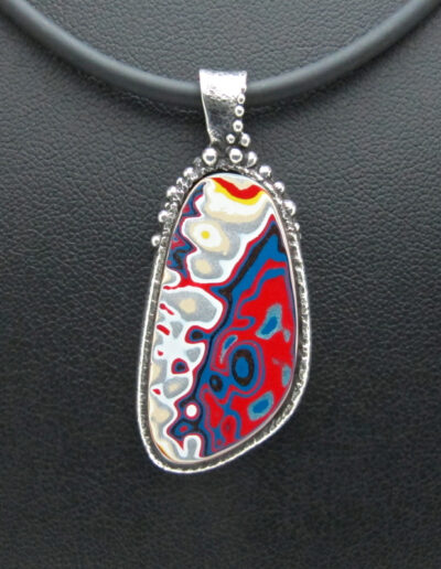 Sterling-Silver-and-Motor-Agate-Fordite-Necklace-1415-1