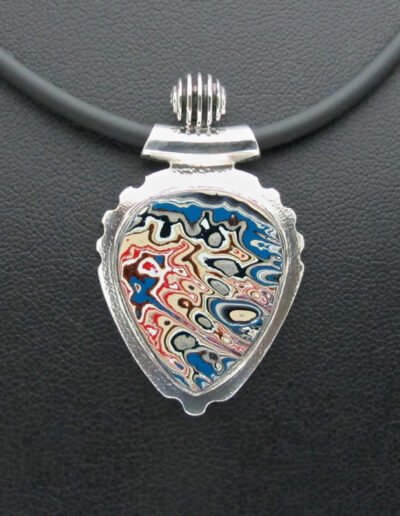 Sterling-Silver-and-Motor-Agate-Fordite-Necklace-1416-1
