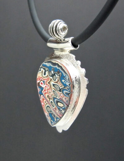 Sterling-Silver-and-Motor-Agate-Fordite-Necklace-1416-3