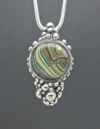 Sterling-Silver-and-Motor-Agate-Fordite-Necklace-1476-1