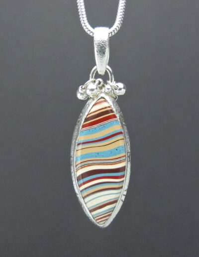 Sterling-Silver-and-Motor-Agate-Fordite-Necklace-1519-1