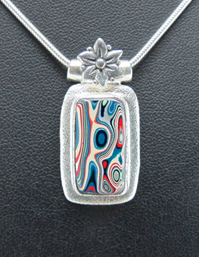 Sterling-Silver-and-Motor-Agate-Fordite-Necklace-1526-1