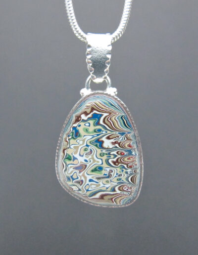 Sterling-Silver-and-Motor-Agate-Fordite-Necklace-1602-1