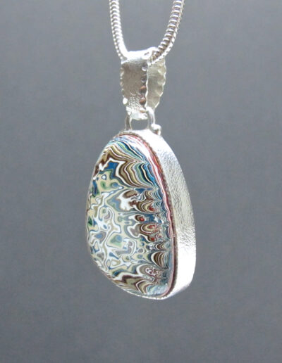 Sterling-Silver-and-Motor-Agate-Fordite-Necklace-1602-2