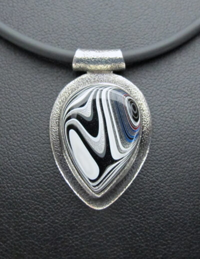 Sterling-Silver-and-Motor-Agate-Fordite-Necklace-1607-1