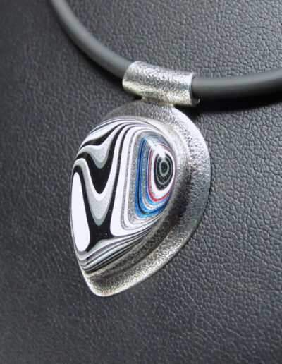 Sterling-Silver-and-Motor-Agate-Fordite-Necklace-1607-2