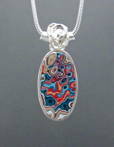 Sterling-Silver-and-Motor-Agate-Fordite-Necklace-1649-1