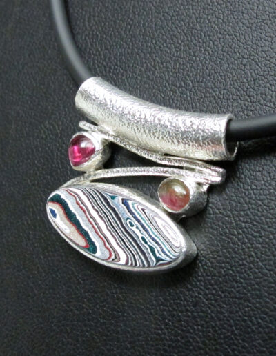 Sterling-Silver-and-Motor-Agate-Fordite-Necklace-1722-2