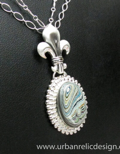 Sterling-Silver-and-Motor-Agate-Fordite-Necklace-1766-2