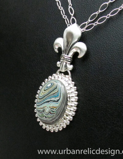 Sterling-Silver-and-Motor-Agate-Fordite-Necklace-1766-4