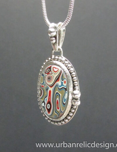 Sterling-Silver-and-Motor-Agate-Fordite-Necklace-1767-3