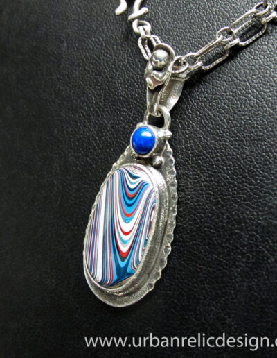 Sterling-Silver-and-Motor-Agate-Fordite-Necklace-1769-4