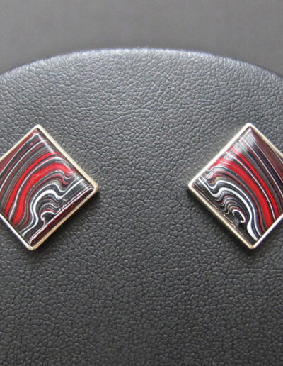 Sterling-Silver-and-Motor-Agate-Fordite-Post-Earrings-1184