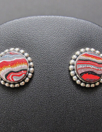 Sterling-Silver-and-Motor-Agate-Fordite-Post-Earrings-1185