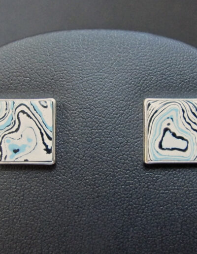 Sterling-Silver-and-Motor-Agate-Fordite-Post-Earrings-1249