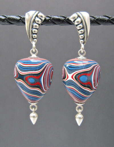 Sterling-Silver-and-Motor-Agate-Fordite-Post-Earrings-1330