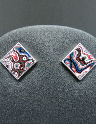 Sterling-Silver-and-Motor-Agate-Fordite-Post-Earrings-1690