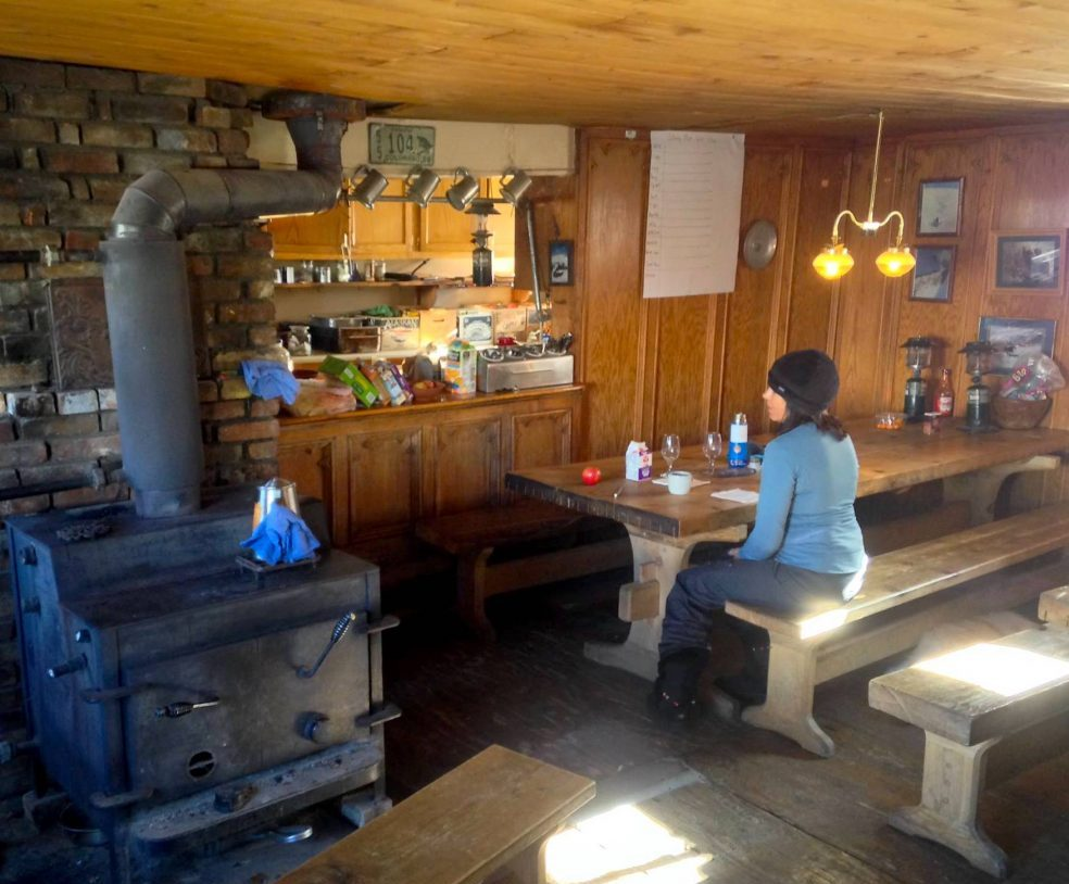 inside st paul hut