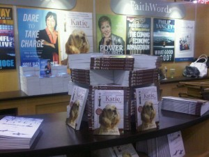 My book galleys all lined up at Book Expo America