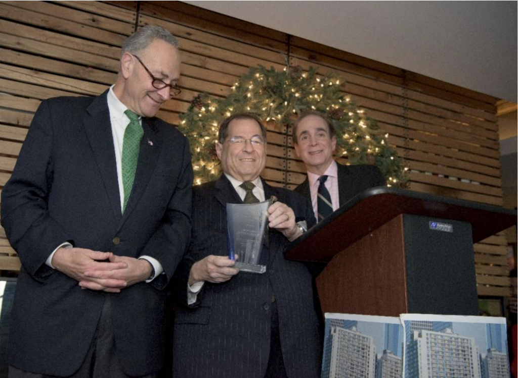 Glenn Plaskin ghostwriter with Senator Chuck Schumer and Congressman Jerry Nadler