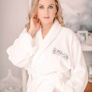 Million dollar bathrobe