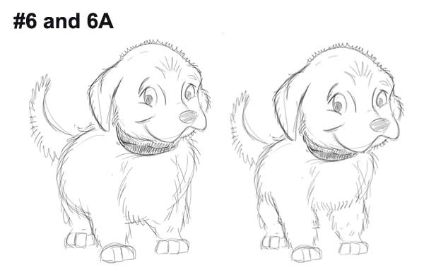 Bon the shelter dog version 6