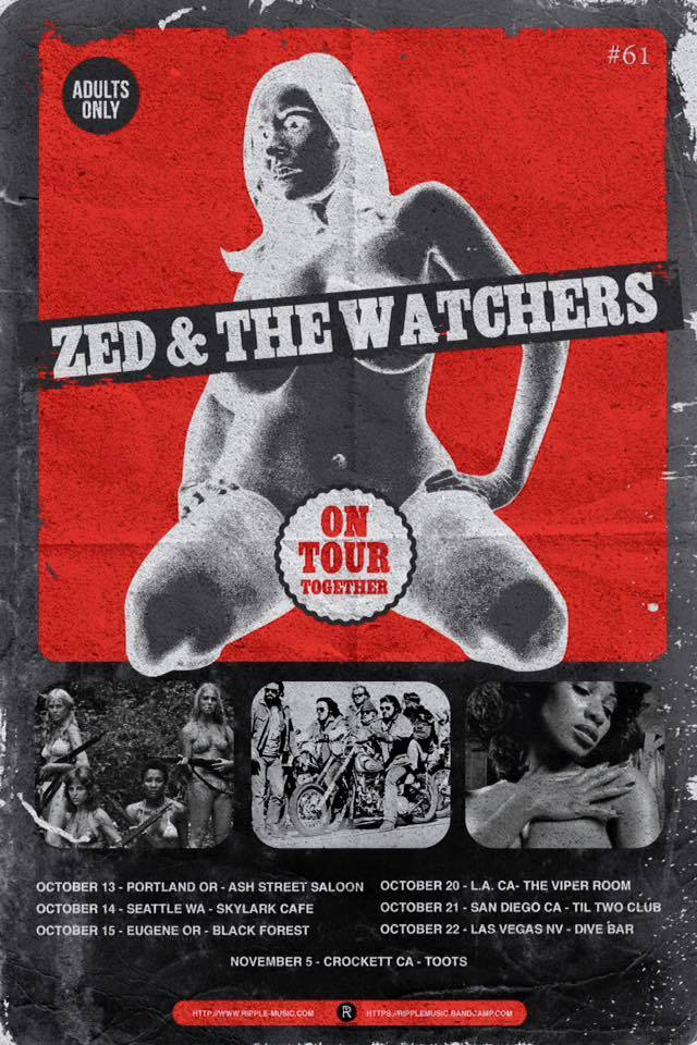 ZED / The Watchers Tour