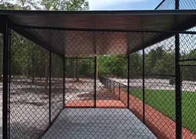 chain link baseball