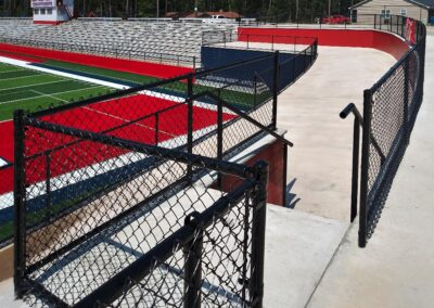 chain link stadium
