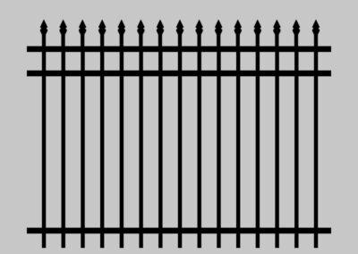 Antebellum Fence Abigail