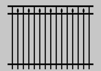 Antebellum Fence Ella Marie
