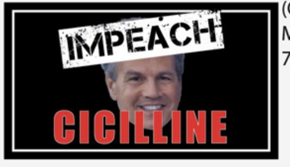 "Get your ""Impeach Cicilline"" magnet"