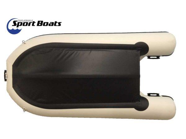sport boat bottom