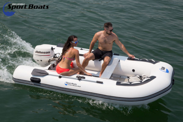 inflatable sport boat killer whale 10.8' with 9.9 hp
