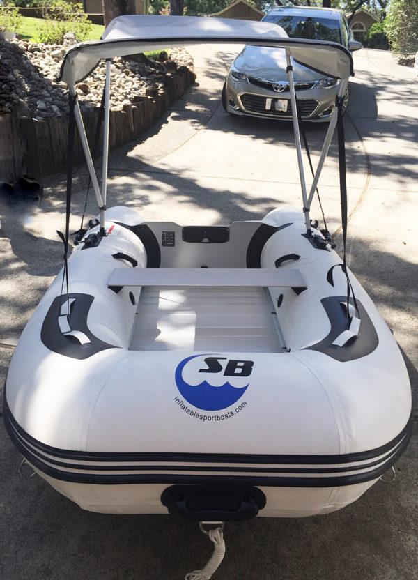 inflatable boat bimini canopy