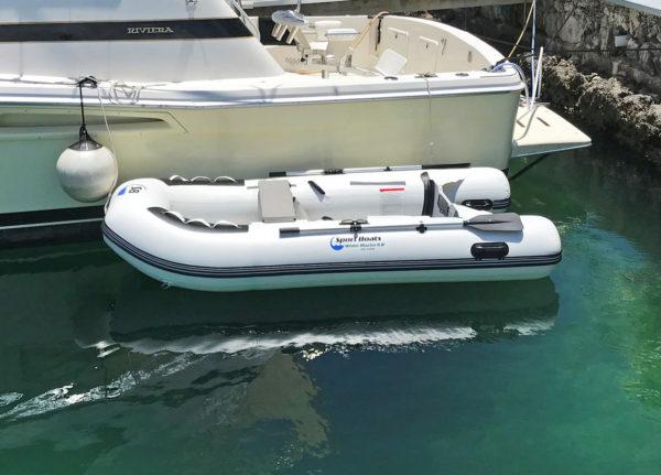 white marlin sport boat