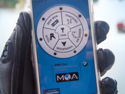 BMW MOA Ride Map App by Tourstart