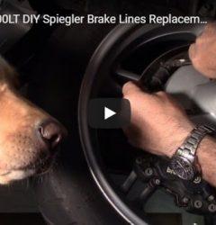 K1200LT Spiegler Brake Line Replacement