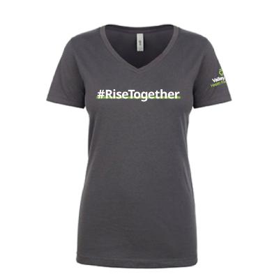 #RiseTogether V-Neck T-Shirt