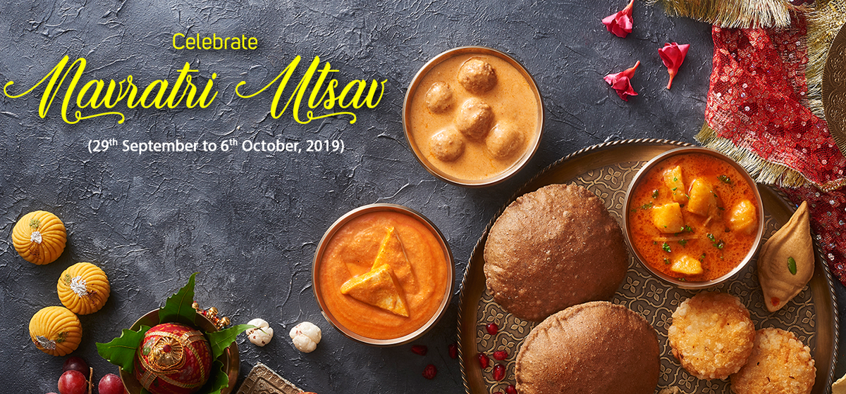 Navratri Special Thalis and Sweets