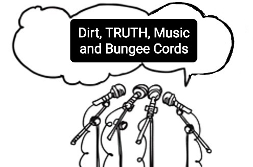 Spiritual Media Blog Interview of Dirt, TRUTH, Music and Bungee Cords: Conversations With The Souls Who Guide My Life