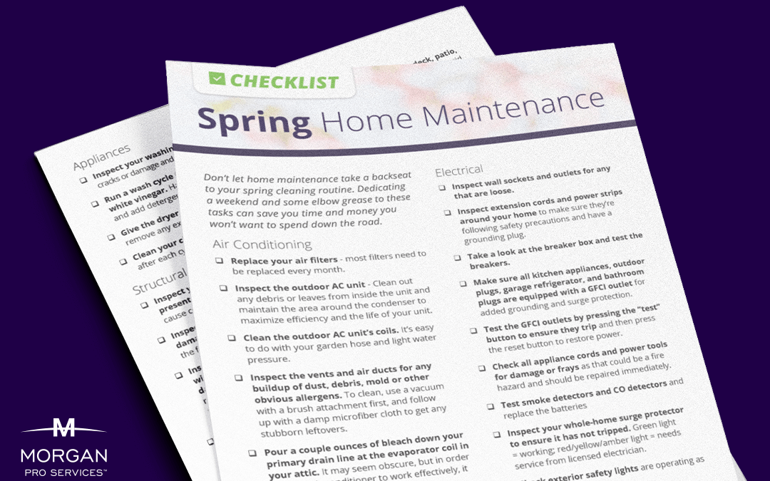 DIY Spring Home Maintenance Checklist