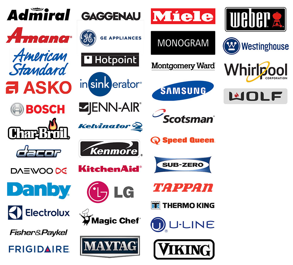 Family Appliance Repair service brands