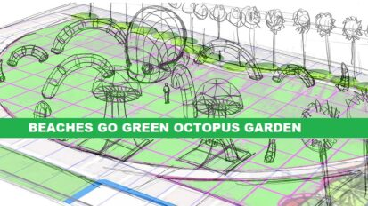 Beaches Go Green Octopus Garden