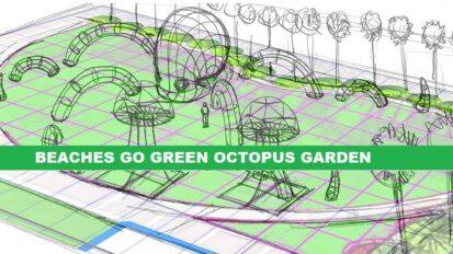 Beaches Go Green Octopus Garden